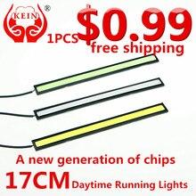 KEIN (R) 1 ШТ. 17 СМ LED cob DRL автомобилей дневные ходовые огни модификация автомобиля стайлинга автомобилей сид drl дневного света