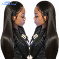 SilkyLong Peruvian Virgin Hair Straight Full lace Human Hair Wigs With Baby Hair And Lace Front Human Hair Wigs For Black Woman
