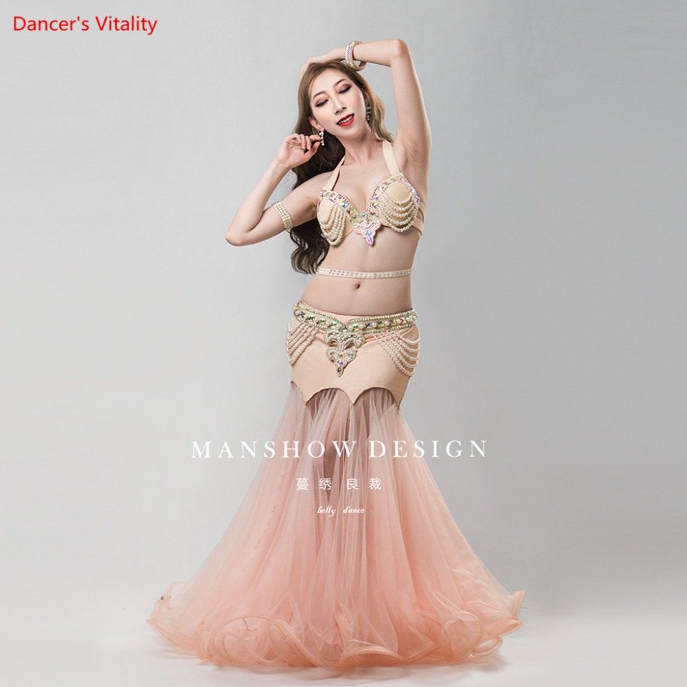 Professional CustomizationStage Performance Dance Wear Women Belly Dance Clothes Set Belly Dance Costume Set