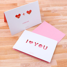 Buy kraft greeting card boxes and get free shipping on aliexpress greeting cards paper hollow out heart love for birthday wedding party decoration gift candy box craft m4hsunfo Choice Image