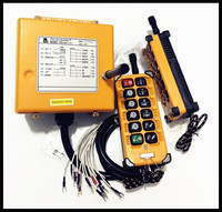 F23 A + + передатчик x2 + приемник x1 DC24V, AC36V промышленное радио кран с дистанционным управлением кран Управление подъемный кран