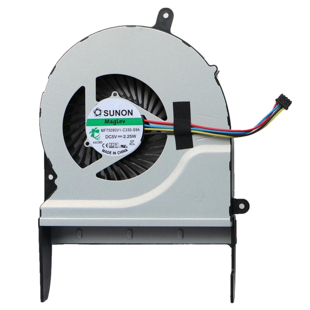 New Original Cpu Fan For Asus N551J N551JW N551JX N551JK N551JQ G58 G58J G58JW Cpu Cooling Fan SUNON MF75090V1-C330-S9A битоков арт блок z 551