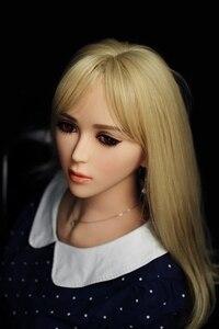 Image 2 - 165cm seks lalka z pochwy i seks oralny i seks analny miłość lalka pełna silikonowa piękna lalka