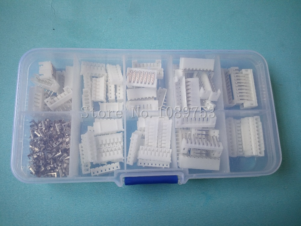 50 sets Right angle 6p 7p 8p 9p 10 pin 2.0mm Pitch Terminal / Housing / Pin Header Connector Wire Connectors Adaptor PH Kits 50 sets kit in box 2p 3p 4 pin 2 54mm pitch terminal housing pin header connector wire connectors adaptor xh2p kits