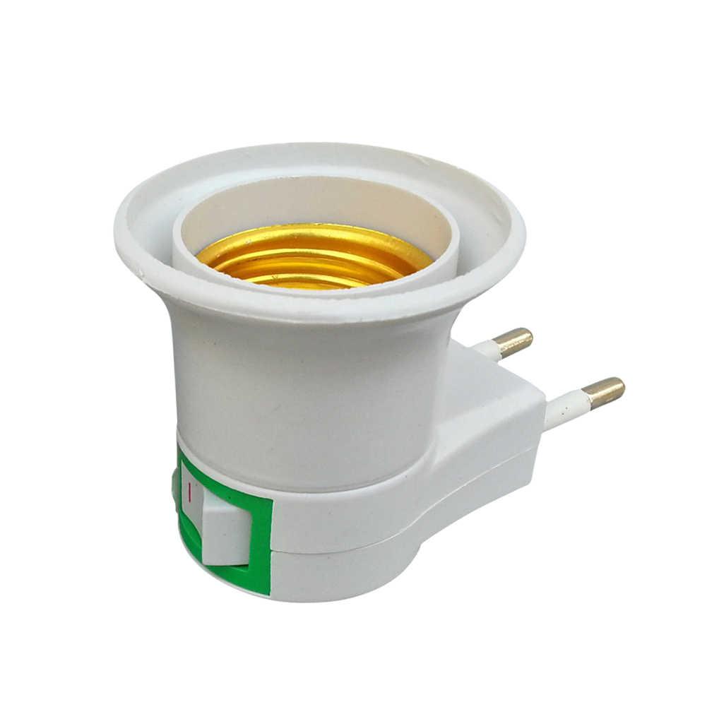 NEW E27 to GU10 Converter LED Light Lamp Bulb Adapter Adaptor Screw Socket ceramic material E27 TO GU10 SOCKET BULB BASE