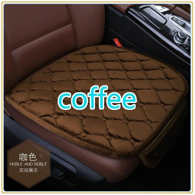 LumiParty Durable cómodo asiento delantero de coche cojín antideslizante transpirable para asiento de coche Universal para cuatro estaciones