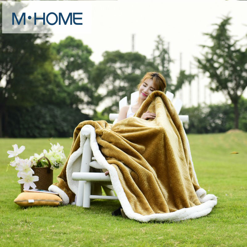 Berber Fleece Blanket Winter Super Soft Blanket Flannel Sofa Leisure Office Lunch Air Conditioning Blanket Double Thick Plaids 2017 brown leopard thread blanket gray knitted air conditioning sofa blanket 100% cotton 200 230cm soft bed sheet home textile