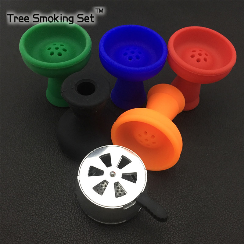 1pcs Bowl And1pcs Charcoal Horder Charcoal For Shisha Hookah Accessories Cigarettes Ln Packs With a Filter Shishas Completas