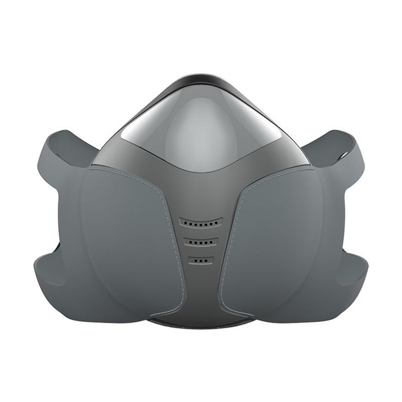 Outdoor Adult Smart Electric Mask Anti-Fog Pm2.5 Formaldehyde Dust-Proof Active Air Mask Car Air Purifier