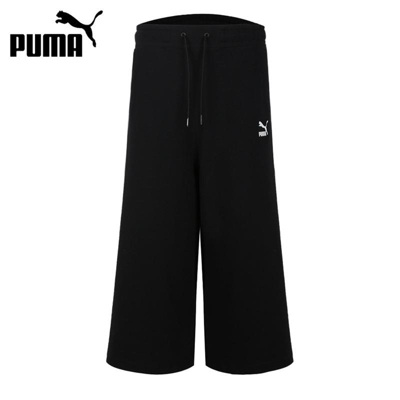 Novedad Original Puma Classics 3 4 Culotte Pantalones Cortos Para Mujer Ropa Deportiva Pantalones Cortos Para Correr Aliexpress