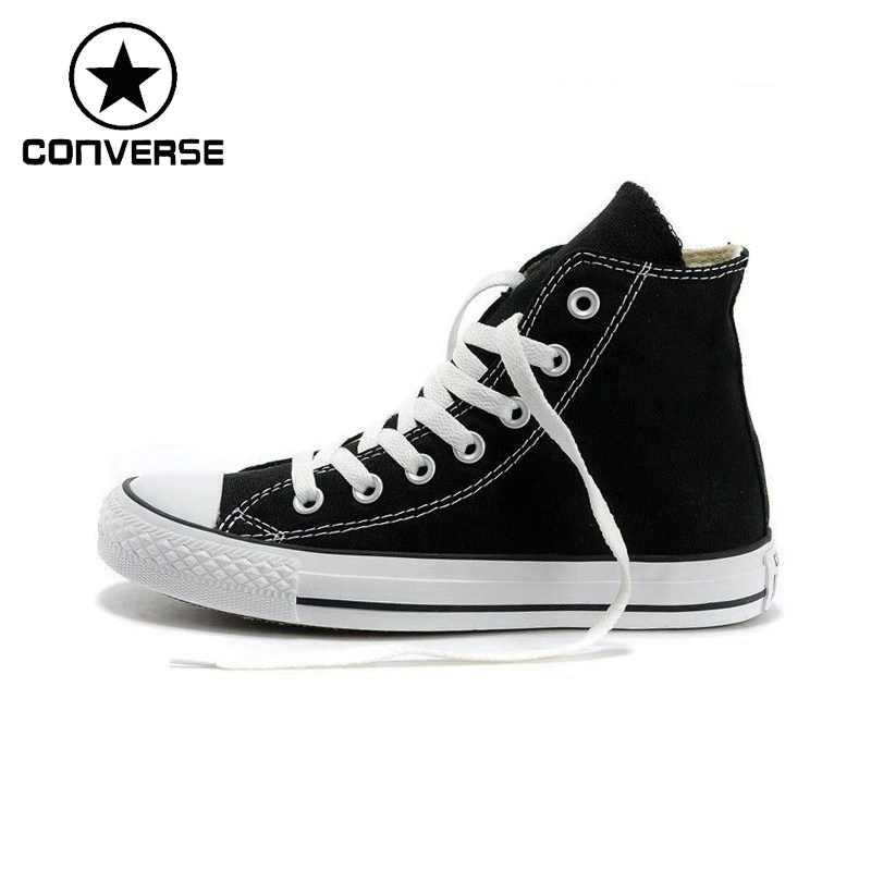 746011351f1 Original Converse Unisex High top Classic Canvas Skateboarding Shoes  Sneakser