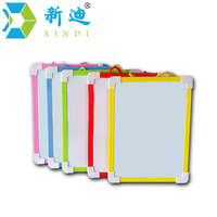XINDI Magnetic Whiteboard Dry Wipe Board 5 Colors Mini Drawing Whiteboard 20 6 18 5cm Small