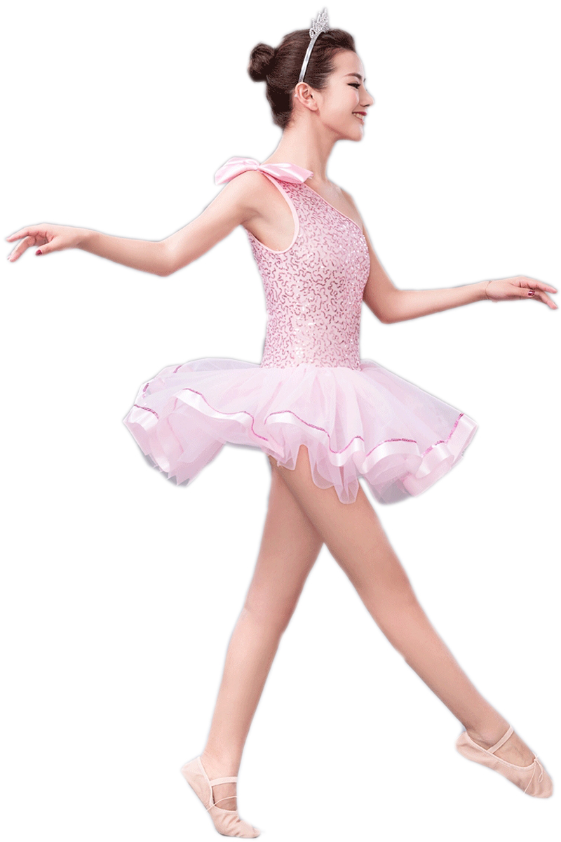 2018 Sale Special Offer Acrylic Gymnastics Leotard Ballet Dress For Children Professional Costumes For Girls Novelty & Special Use Ballet