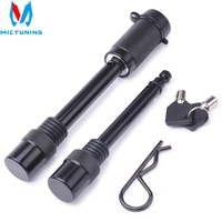 5/8 and 1/2 Trailer Hitch Lock Pin Set with One Locking System 1 Safety Clip 10 Anti Rattle O Rings 2 Keys for Tow receivers