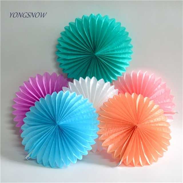 Aliexpress Buy 15cm Paper Crafts Honeycomb Tissue Paper Fans