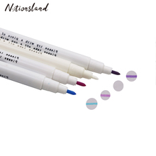15 см воды стираемый маркер для ткани заменить Портной Мел Вышивание инструменты пошив интимные аксессуары 4 цвета