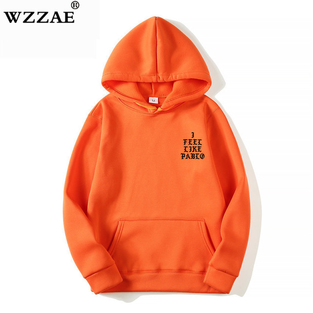 I Feel Like Paul Pablo Kanye West Sweat Homme hoodies Men Sweatshirt Hoodies Hip Hop Streetwear Hoody Pablo Hoodie 3
