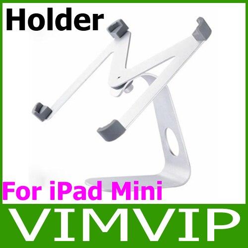 Free Shipping!M shape aluminum 360 Degree Rotatable holder stand for ipad mini
