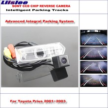 Liislee Backup Rear Reverse Camera For Toyota Prius 2001~2003 / HD 860 Pixels 580 TV Lines Intelligent Parking Tracks