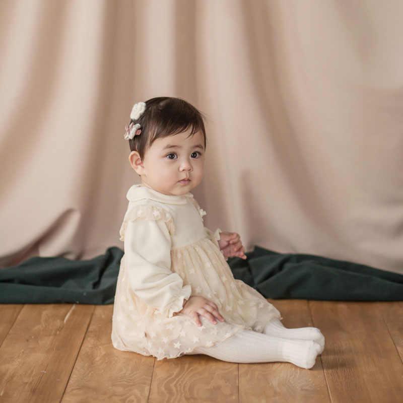 נסיכת שמלות לקיץ, סתיו האביב חמוד סגנון עם אדום ולבן תינוק ילדי שמלות בגדי 2019