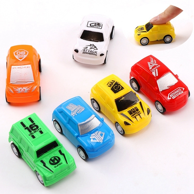 1 Piece Toy Vehicle Baby Cartoon Toy Car Inertial Baby Educational Toys Taxi Children Birthday Gift