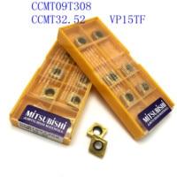 כלי קרביד כלי 20PCS CCMT09T308 / CCMT32.52 VP15TF / US735 מוסיף קרביד פנימי פן כלי הפיכת endmills מחרטת כרסום CNC כלי חותך (2)