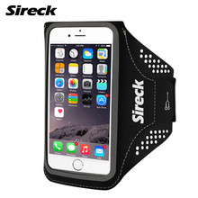 Sireck Running Bag Touchscreen 5″/5.8″ Run Jogging Arm bag Phone Pouch Outdoor Bags Belt Bicycle Accessories 4 Colors