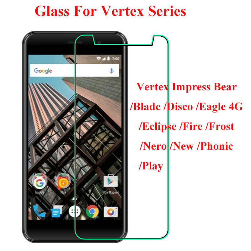 Impress Terkesan Beruang Kaca Tempered Screen Protector Vertex Vertex Pisau Elang 4G Eclipse Api Es Disco Nero Baru Phonic bermain