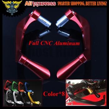 "For Ducati HYPERMOTARD 796 HYPERMOTARD 821 SP SPORT 1000 7/8"" 22mm CNC Motorcycle Handlebar Brake Clutch Levers Protector Guard"