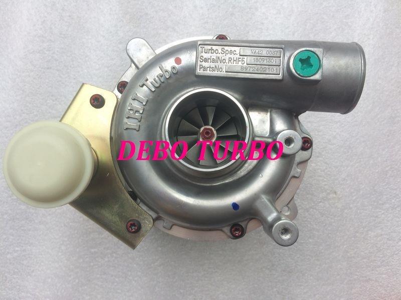 ÚJ RHF5 / VIDA 8972402101 8973295881 turbófeltöltő ISUZU D-MAX - Autóalkatrész