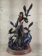 26cm Japanse anime figuur Naruto Akatsuki Uchiha Itachi standbeeld action figure collectible model speelgoed voor jongens(China)
