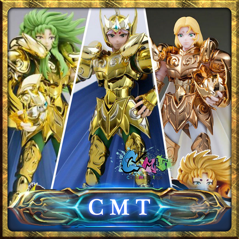 CMT In-Stock S-Temple / MetalClub Aries Mu Saint Seiya Myth Cloth Ex Aries Mu Action Figure anime figure brand metal club mc anime saint seiya character ex myth cloth soul of gold god ex aries mu figure