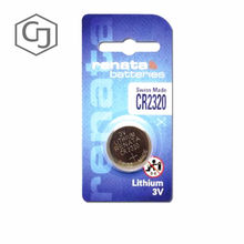 Original battery Renata 3v button battery 2320 battery car remote control free shipping(China)
