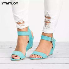Women Sandals Plus Size 35-43 Wedges Shoes For High Heels Su