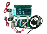 LED Tyre Automatic Inflator Machine PCB Controller Board With Battery Valve