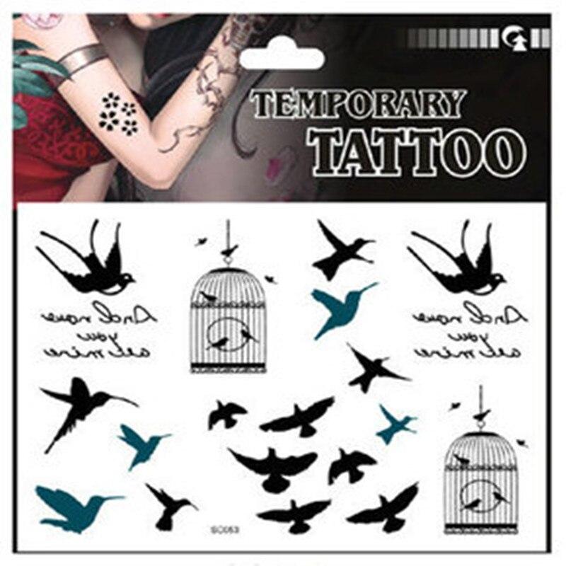 ᗐAl por mayor 12 unids/lote diseño creativo Gaviota patrón Birdcage ...