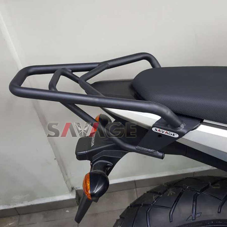 Задний багажник для велосипеда Чемодан стойки для HONDA CB500X сертификатом от сертификационной 500X 2013-2019 2017 2018 CBR 500R CB500F 2013 2014 2015 16 Аксессуары для мотоциклов
