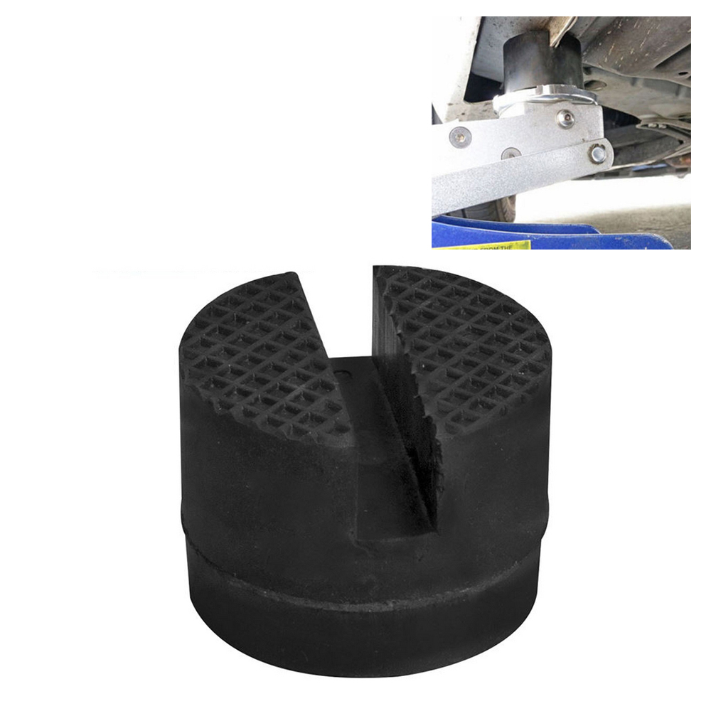 Universal Jack Rubber Pad Slotted Frame Track Floor Jack Pad Suitable For Most Floor Jacks Lifts Protect Vehicle Chassis Metal