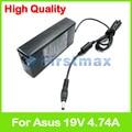 19 В 4.74A 90 Вт ноутбук зарядное устройство ac адаптер питания для Asus N53TA N53TK N53V N53X N53XI N55 N55E N55S N55SF N55SL N55XI N56 N56D N56D