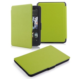 Ultra slim thin leather cover case smart PU leather case for 2015 tolino vision hd3 ereader smart cover case(China)