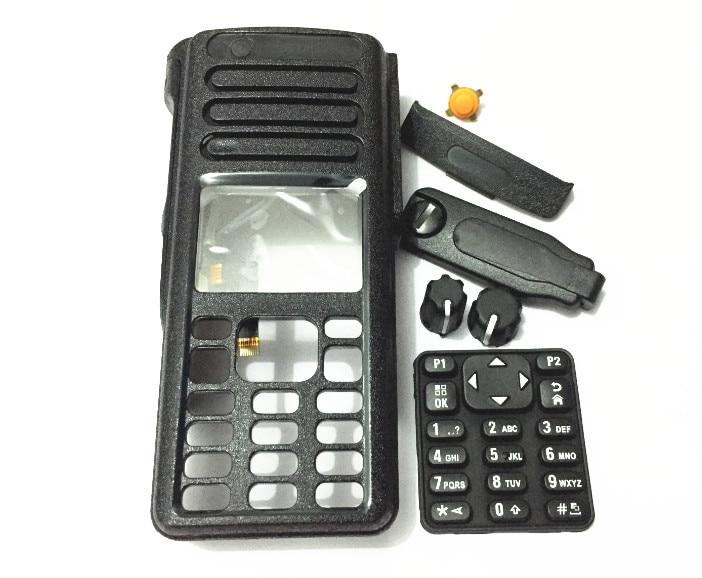 Accessoire talkie-walkie pour motorlola XiR P8668 P8660 GP338D coque NUOVO con calotta del pomello coperchio laterale