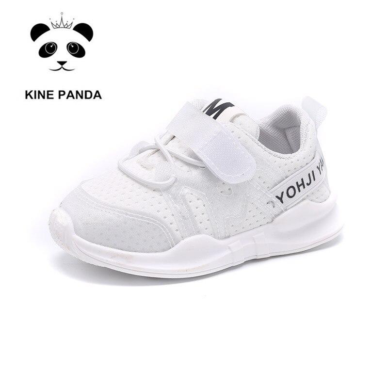3c376df6f KINE PANDA/детская обувь; обувь для малышей 1, 2, 3 лет; повседневные  Сникеры с сеткой для маленьких мальчиков и девочек; спортивная обувь;  мягкая об.