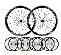 High quality 700C wheelset road bicycle clincher wheels 9 speed 10 speed 11 speed V brake bicycle wheels