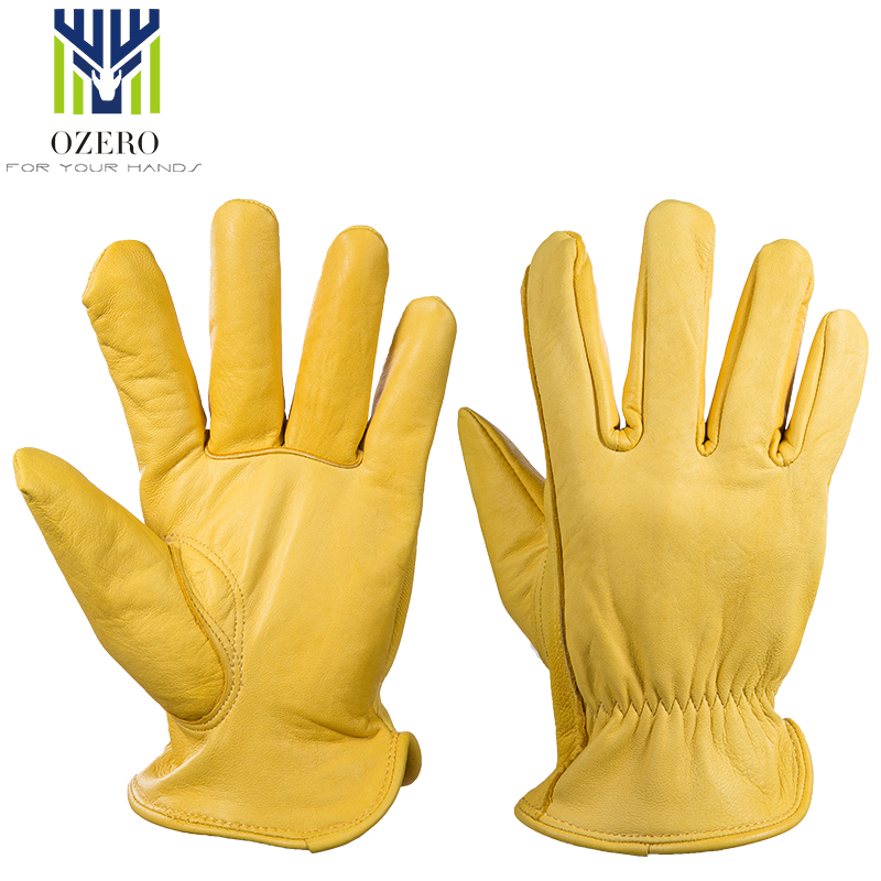 Initiative Ozero Moto Gloves The Driver Goat Leather Motorcycle Ski Gloves Windproof Anti Cold Anti Snowboard Hiking Hunting For Men 5002 Removing Obstruction