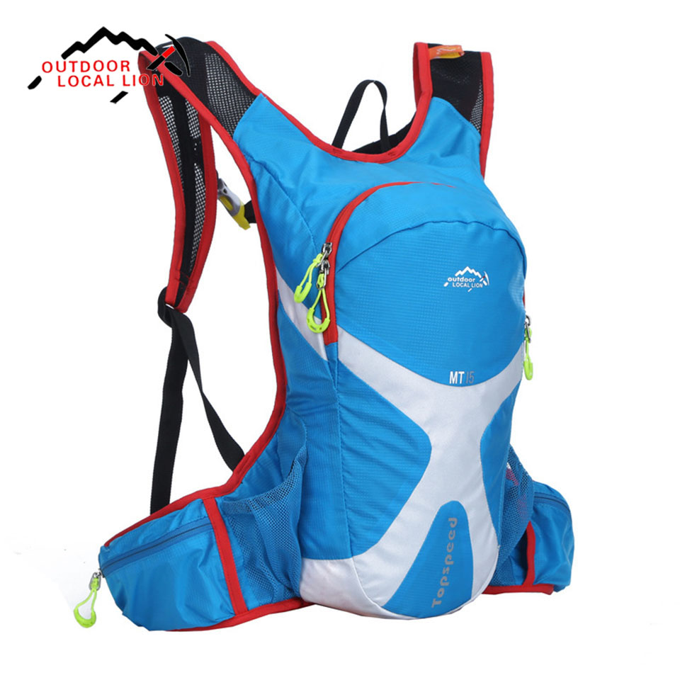 LOCAL LION 15L 15L Double Shoulders Backpack Cycling Bag Bike Bag for Holding Water Bag MTB Road Bike Bicycle Cycling Backpack new 15l cycling bicycle water bag road mountain bike sport running outdoor hiking backpacks