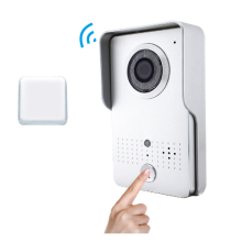 Wireless Video Door bell Wifi 3G 4G outdoor Camera +Indoor Bell Wifi door Intercom IP door bell camera for Smartphone