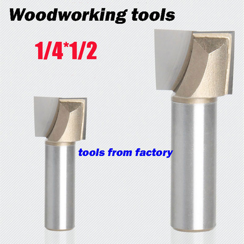 1pc wooden router bits 1/4*1/2 CNC woodworking milling cutter woodwork carving tool 1pc wooden router bits 1 2 5 8 cnc woodworking milling cutter woodwork carving tool