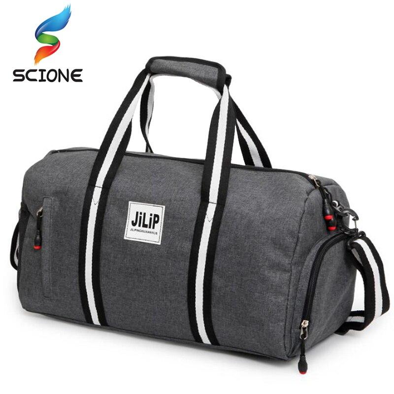 2018 A + + холст спортивная сумка Training Gym bag Для мужчин женщина Фитнес Сумки прочный многофункциональный Сумочка Открытый Спортивные сумка для мужской