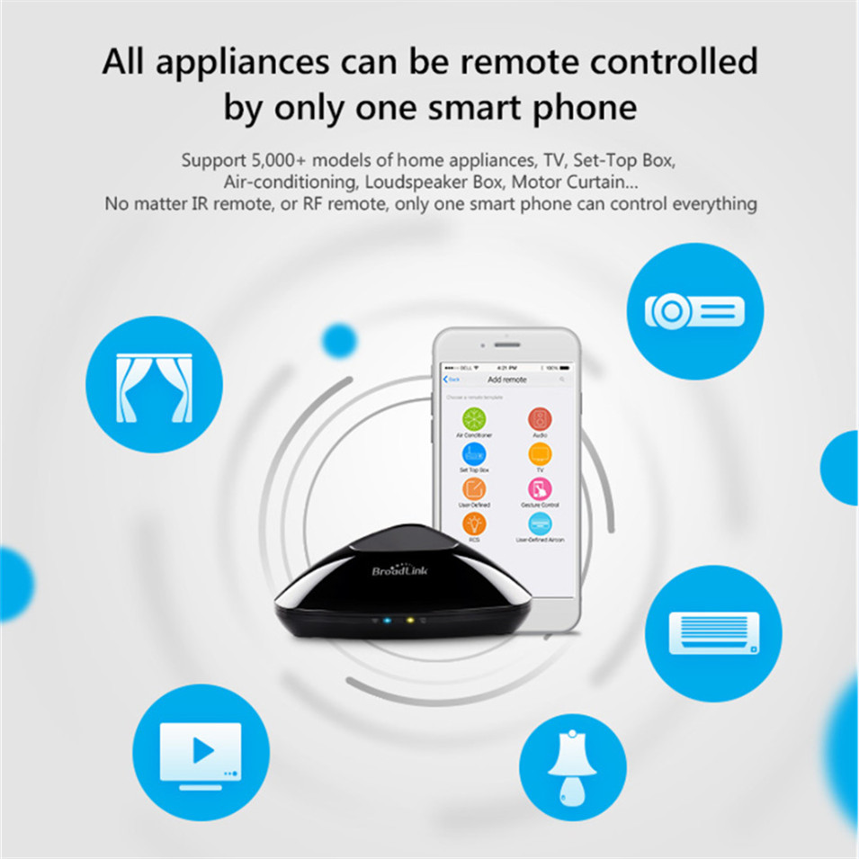 HOT SALE] New Broadlink RM PRO Wifi Universal Remote