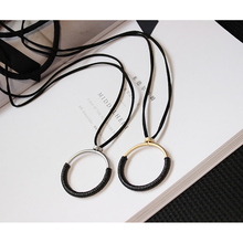 Women's Fashion Sweater Chains Lanyards Big Round Pendant + 84cm Glasses Chains Spectacles Lanyards